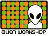 AlienWorkshopgreenorangesticker