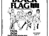 BlackFlagconcertflyersticker