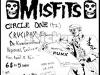 Misfitsflyersticker