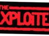 TheExploitedredonblacksticker
