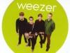 Weezerbandongrencirclesticker
