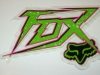 FoxRacing80ssticker