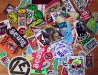assortedskateboardandrandomstickers106
