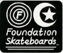 foundationskateboardssunandmoonsticker