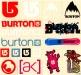 Burtonsnowboardsassortedstickers33