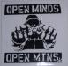 OpenMindssnowboardsticker