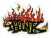thinkskateboardsflamemini3x2sticker