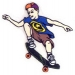 skateboarderstickerramaWorldIndustries