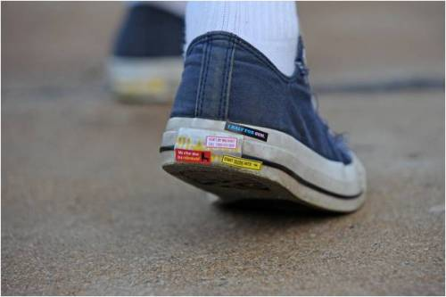 Bumper Stickers for Your Shoes