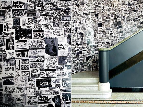 The ace hotel s sticker graffiti inspired decor sticker life for Ace hotel decor